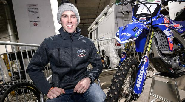 Jason Meara has become a star of the Arenacross tour since his debut one year ago.
