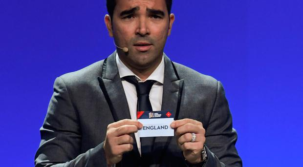 Draw time: England's name is pulled out by Deco