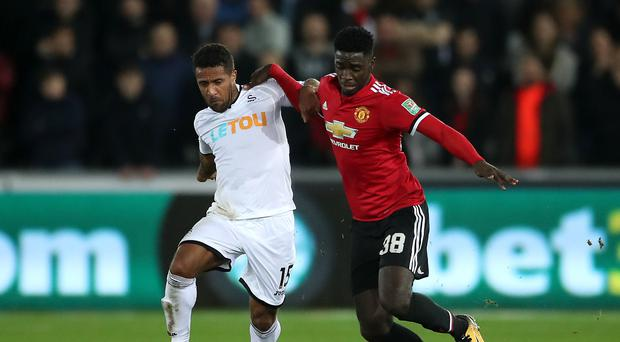 Swansea City v Manchester United – Carabao Cup – Fourth Round – Liberty Stadium