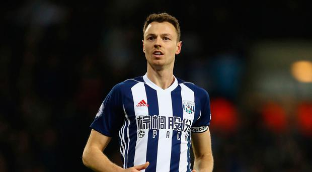 West Brom name their price for Jonny Evans amid Arsenal interest