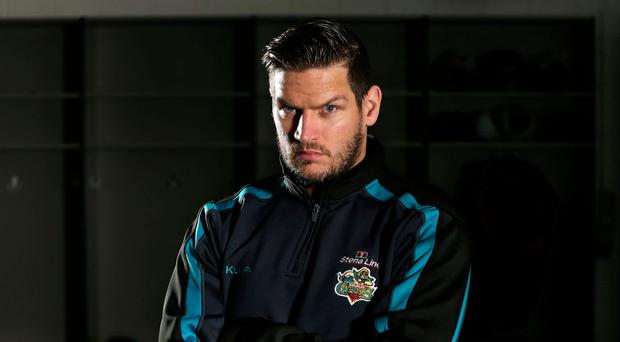 Personal touch: Belfast Giants coach Adam Keefe