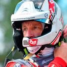 Big blow: Kris Meeke is in sixth spot after losing critical time