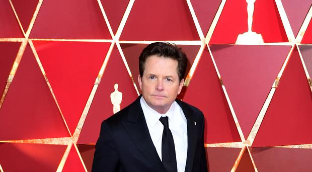 Michael J Fox will provide funding to a student from Birkbeck's School of Business, Economics and Informatics (Ian West/PA)