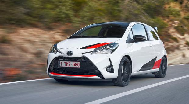 review toyota yaris grmn 39 a fantastic and very capable performance machine. Black Bedroom Furniture Sets. Home Design Ideas