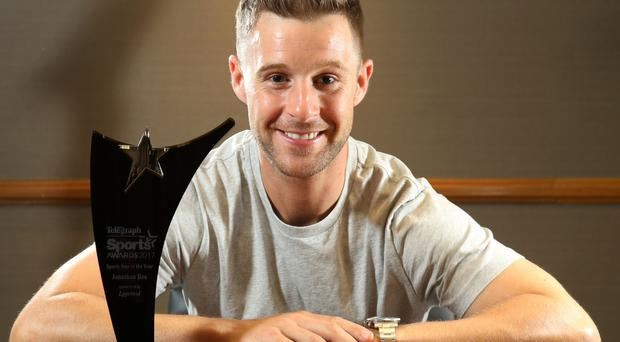 Belfast Telegraph Sports Star of the Year Jonathan Rea Photo by Darren Kidd / Press Eye