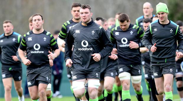 Big game player: Peter O'Mahony is relishing his involvement in Ireland's Six Nations programme