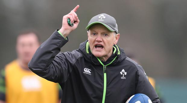 Pressure game: Ireland coach Joe Schmidt