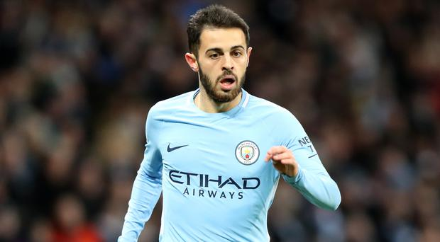 Manchester City's Bernardo Silva is concerned about some of the recent tackles on his team-mates