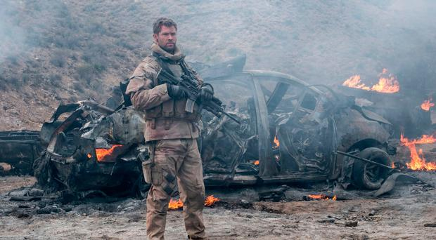 Soldier's story: Chris Hemsworth in 12 Strong