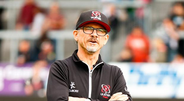 Over and out: Les Kiss has departed after a failure to end Ulster's trophy drought