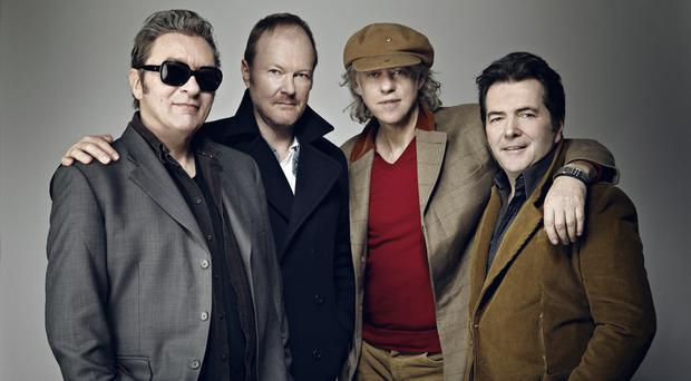 Pictured: The Boomtown Rats