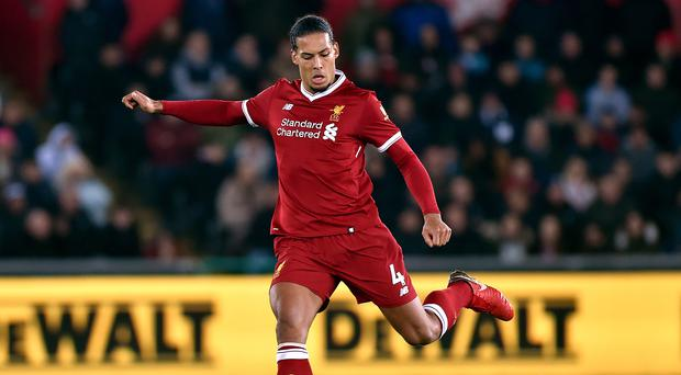 Liverpool manager Jurgen Klopp dismissed suggestions Virgil van Dijk is overwight.