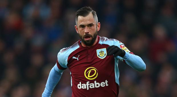 Burnley's Steven Defour is likely to miss the rest of the season