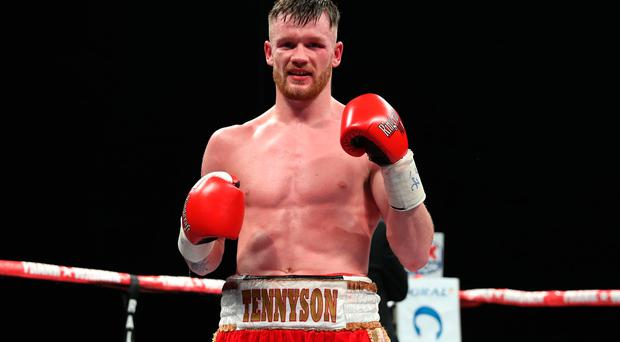 Fighting fit: James Tennyson to headline at Europa Hotel