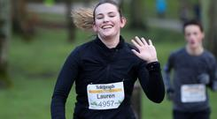 Press Eye - Belfast Telegraph - Born 2 Run - Antrim Castle Gardens - 3rd February 2018 Photograph by Declan Roughan Lauren	Penman