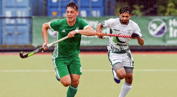Lisnagarvey's Matthew Nelson is part of the Ireland men's panel preparing for this year's World Cup.