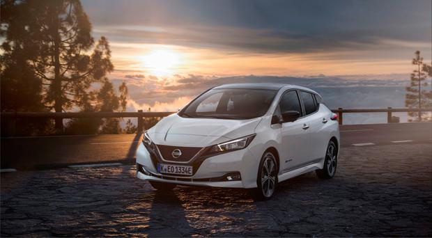 Review Nissan Leaf Composed Refined And Impressive Expect Its