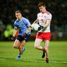 Positive note: Cathal McShane had an impressive showing in the Red Hands' loss to Dublin