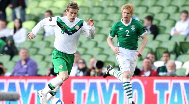 Throwback: NI ace Steve Davis takes on the Republic's Paul McShane in Dublin in 2011