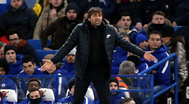 Chelsea manager Antonio Conte has found his position under the spotlight