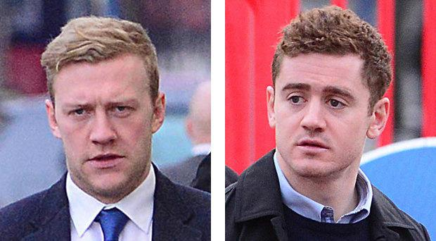 Stuart Olding and Paddy Jackson deny the charges.