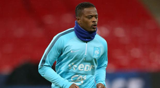 Patrice Evra is back in the Premier League with West Ham