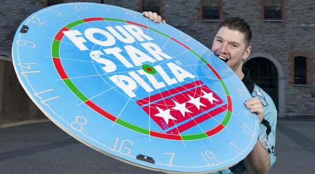 FOUR STAR PIZZA HIT THE BULLSEYE WITH SUPERCHIN SPONSORSHIP: Its magic darts for leading pizza company Four Star Pizza who today announced a new sponsorship deal with professional darts player Daryl Superchin Gurney.