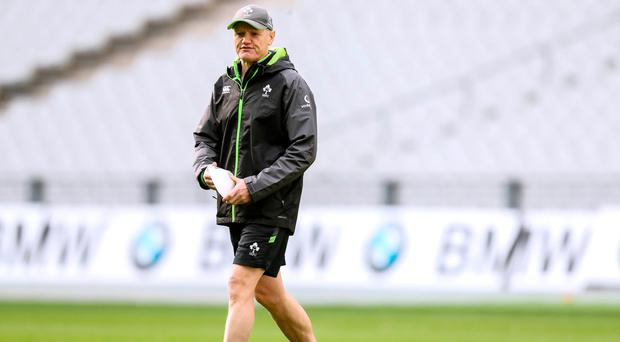 First step: Joe Schmidt steered Ireland to opening win