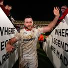 Heavy hitter: Second row Alan O'Connor is hoping to help Ulster get back on track