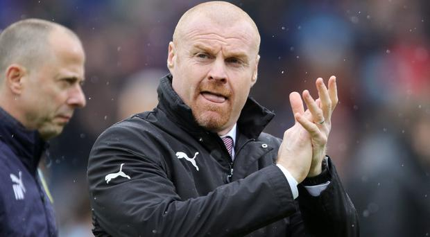 Sean Dyche is not worried about Burnley's winless run