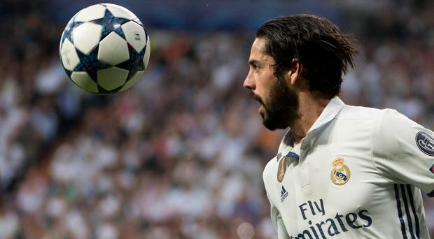 Real Madrid's midfielder Isco has been linked with a move to Liverpool.