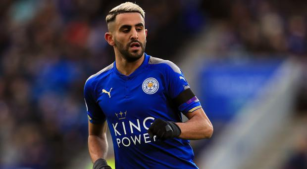 Leicester midfielder Riyad Mahrez is still absent from the club