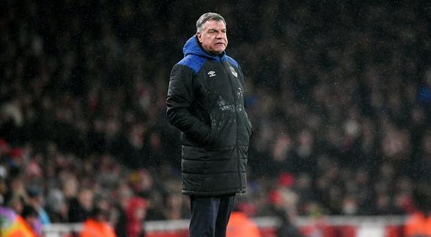 Everton manager Sam Allardyce insists the 5-1 defeat at Arsenal was a