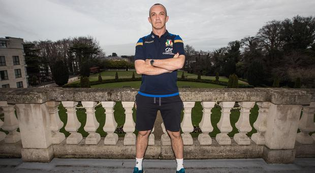 Big return: Conor O'Shea is back in Dublin, but he insists the clash between Ireland and Italy is all about the players