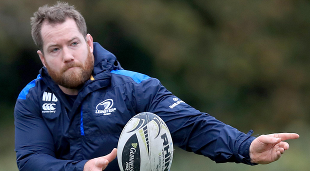 Michael Bent will make his 100th appearance for Leinster as he starts in the front-row alongside skipper Richardt Strauss
