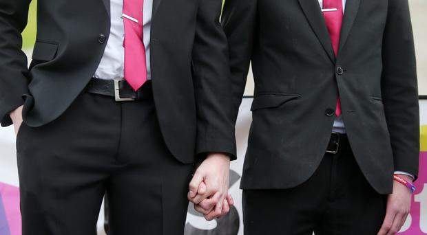 Teenagers demanding marriage equality in Northern Ireland are to deliver a petition to Stormont on Valentine's Day