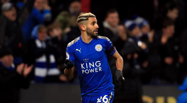 Riyad Mahrez has not featured for Leicester since they rejected an offer from Manchester City