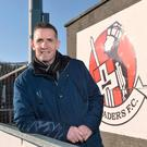 Committed to the cause: Stephen Baxter has penned a new five-year deal with Crusaders