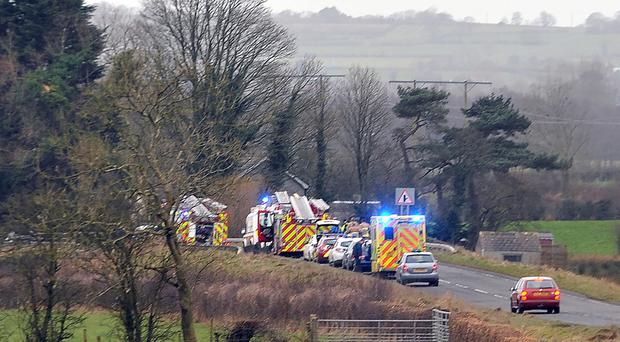 Five-year-old boy dies after falling into Co Antrim river