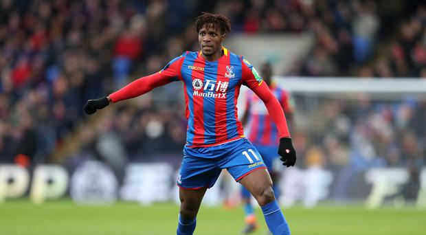 Wilfried Zaha's injury cannot be an excuse for poor results over the next month says manager Roy Hodgson.