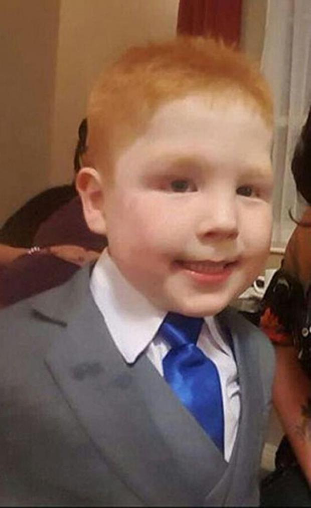 Kayden died after being swept away in the fast-flowing River Braid