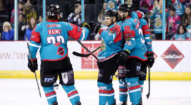 The Belfast Giants are shedding their famous teal jerseys for one night only.