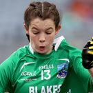 Goal-den girl: Eimear Smyth netted twice for Fermanagh