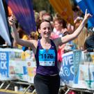Winning smile: you need to begin training if you want to cross the finish line in Belfast on May 7
