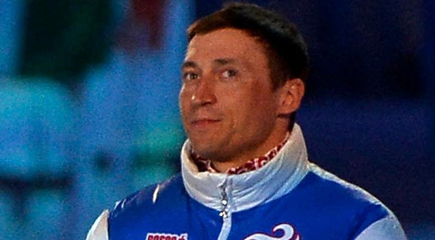 Big blow: Alexander Legkov was stripped of his gold medal