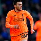 Andrew Robertson is backing Roberto Firmino and Mohamed Salah to guide Liverpool to the Champions League again