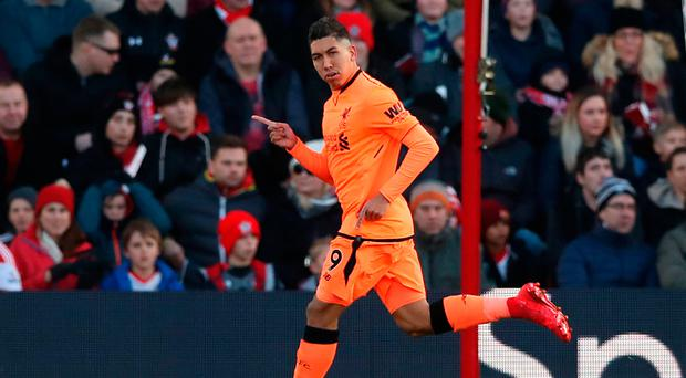 In form Roberto Firmino has hit 20 goals so far this season