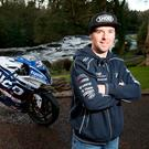Man and machine: Alastair Seeley with his new Tyco BMW Superbike for the North West