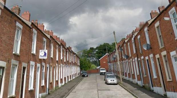 Oakley Street in north Belfast / Credit: Google Maps