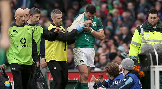 Henshaw injury blow for Ireland